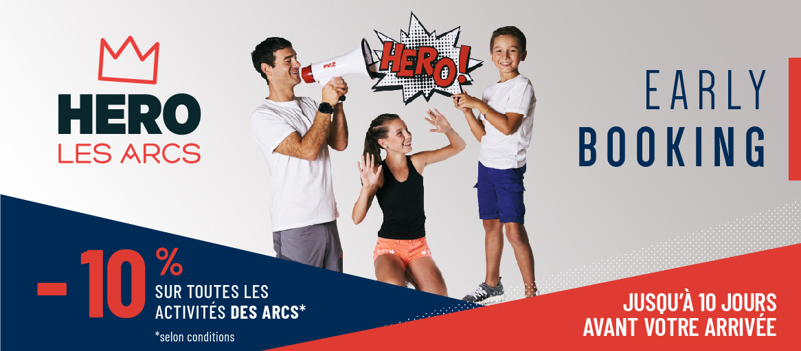 Eté 2020 - early booking Hero -20%