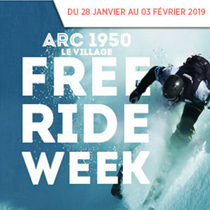 Arc 1950 Freeride Week